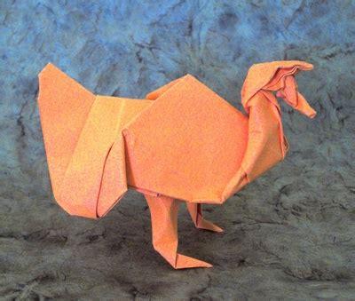 Turkey Origami - origami turkey 2016