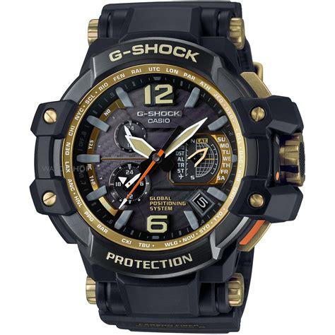 Jam Tangan G Shock Alarm Chrono Premium Quality s casio g shock premium gravitymaster black x gold alarm chronograph radio controlled