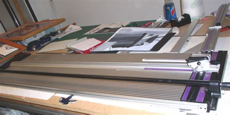 Mat Cutting Supplies by Keencut Ultimat Mat Cutter 48 Inch Used Picture Framing