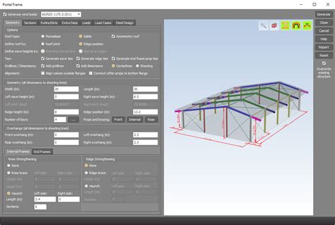 portal frame design using staad pro space gass what s new