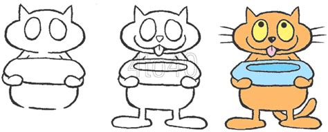 hungry cats clipart clipground
