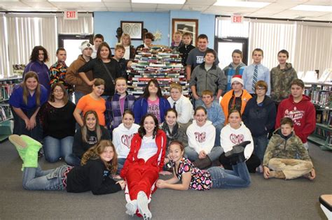 Shelby Banister by Central Usd 462 Cjshs Breaks Food Drive Record