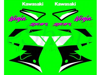 Zx9r Aufkleber Set by Zx 9r 2000 Set Eshop Stickers