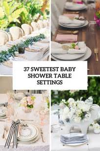 Baby Shower Table by 37 Sweetest Baby Shower Table Settings To Get Inspired