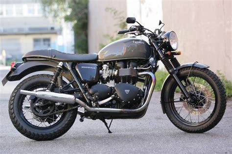 Norton Motorrad Hamburg by Details Zum Custom Bike Triumph Bonneville T100 Des