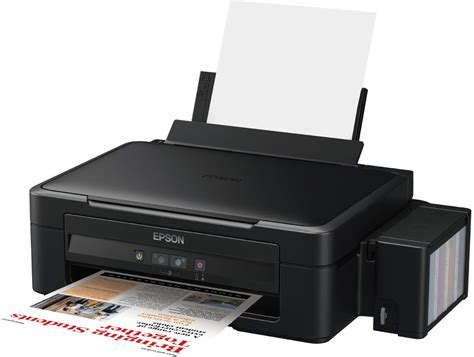 Epson L by Epson L Series L210 Multi Function Inkjet Printer