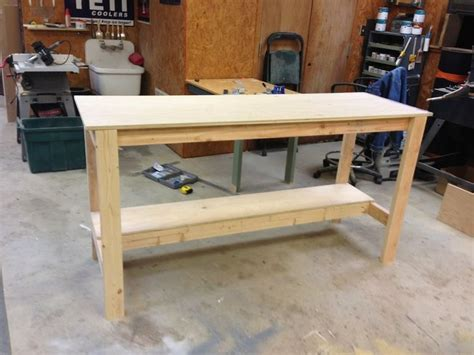 shop bench plans the 25 best ideas about diy workbench on pinterest