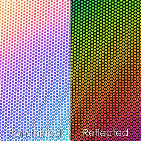 dot pattern glass cbs dichroic glass dichroic patterns dot 1 on thin clear