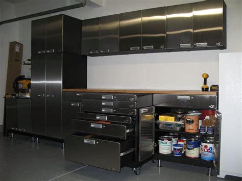hercke stainless steel garage cabinets modular stackable