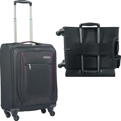 Forte 3 Set volair forte 3 soft suitcase set 4 wheel spinner black