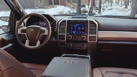 ford   super duty king ranch interior youtube