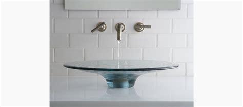 kohler vessels glass above counter standard plumbing supply product kohler lavinia 174 k 2367