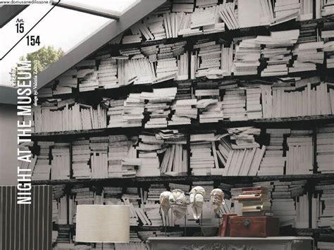 carta da parati effetto libreria domus arredi lissone veneta cucine