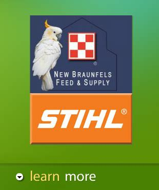 central texas feed store and pet store and stihl