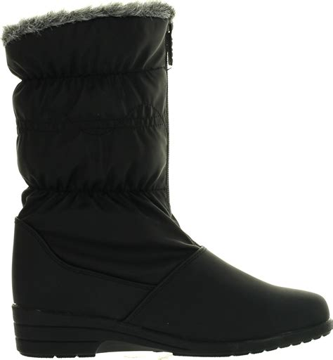 totes waterproof womens boots totes womens peggy winter waterproof snow boots