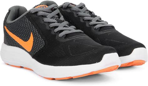 Nike Sport Shoes 00 3 nike revolution 3 running shoes for buy black total orange grey turf orange color