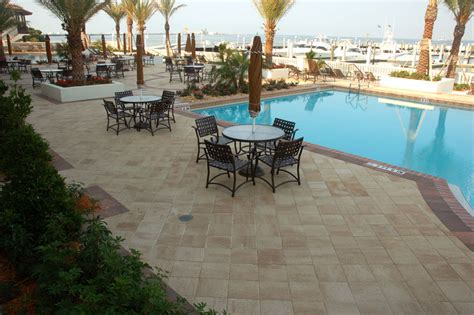 Patio Pavers New Port Richey Commercial Pool And Patio Application New Port Richey Florida