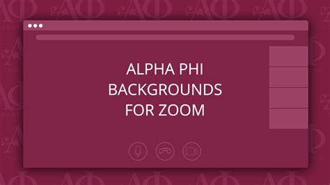 alpha phi inspired zoom backgrounds alpha phi foundation
