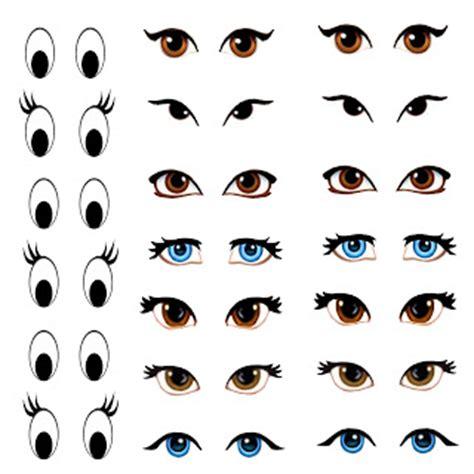 printable eyes template my skills guide manga eyes for amigurumi practice