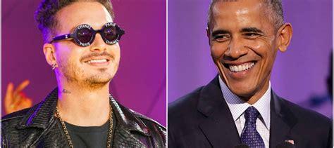 j balvin obama 191 obama es fan de j balvin el ex mandatario estadounidense