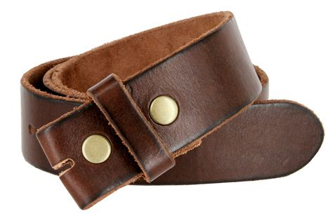 bs40 vintage grain leather belt 1 1 2 quot wide brown