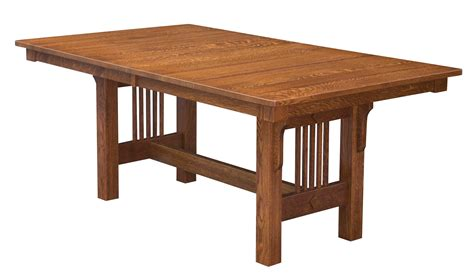 solid wood trestle table mission solid wood trestle table