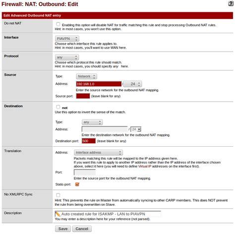 tutorial nat pfsense tutorial configuring pfsense as vpn client to private