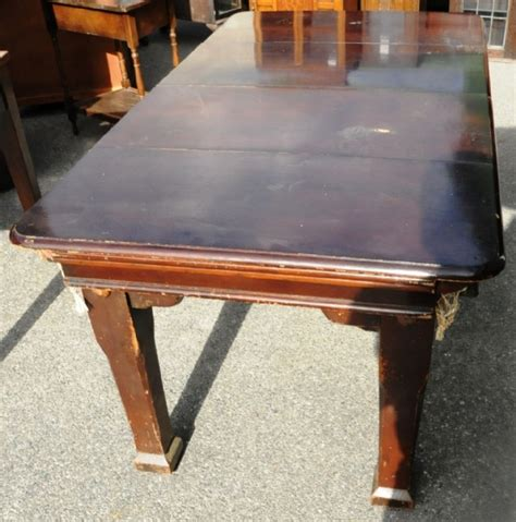 Snooker Table Dining Table Combination An Oak Combination Snooker And Dining Table Tables Dining Antique Furniture South Perth