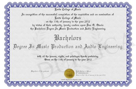Bachelor S Degree In Mechanical Engineering With Mba Starting Salary by Bachelors Degree In Production And Audio Engineering