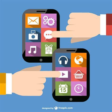 mobile application design vector free vector app designs design crawl vector apps