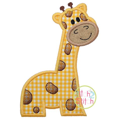 giraffe applique giraffe applique design