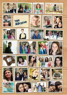 Yearbooks Yearbook Pages And Yearbook Ideas On Pinterest Yearbook Collage Template