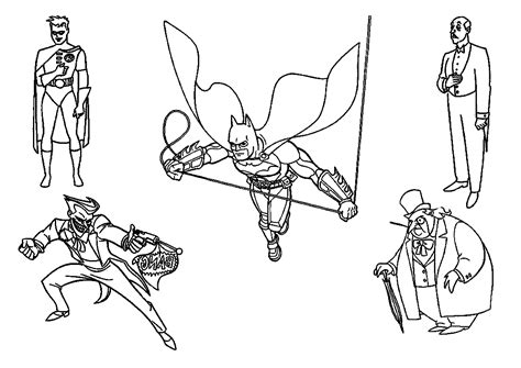 Batman And Joker Coloring Pages Batman And Joker Coloring Pages