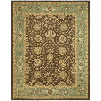 Green Brown Rug by Safavieh Antiquity Brown Green 9 Ft 6 In X 13 Ft 6 In