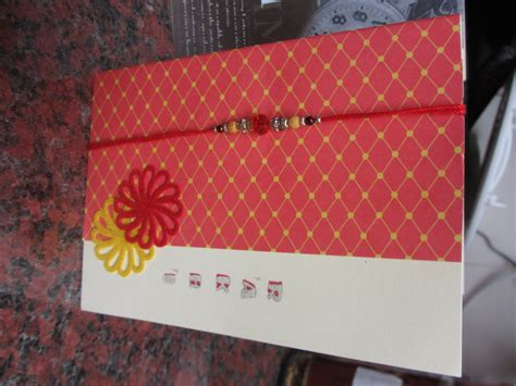 Images Of Handmade Rakhi Cards - handmade raksha bandhan cards chili paper chains