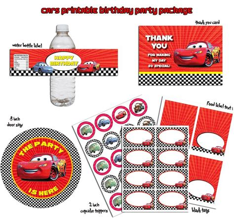 free printable birthday cards lightning mcqueen lightning mcqueen disney cars printable birthday party