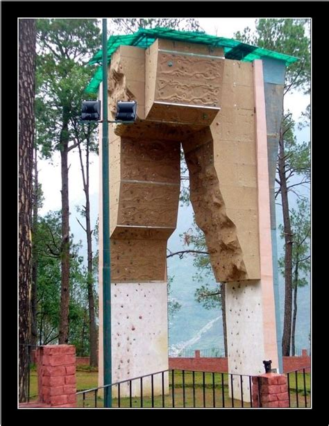 Backyard Climbing Wall by Outdoor Climbing Wall Nim India Travel Forum Indiamike