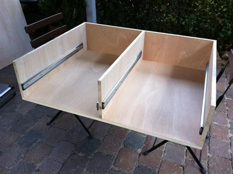 schubladen bauen lassen quot outback quot schubladen selbst gemacht opel