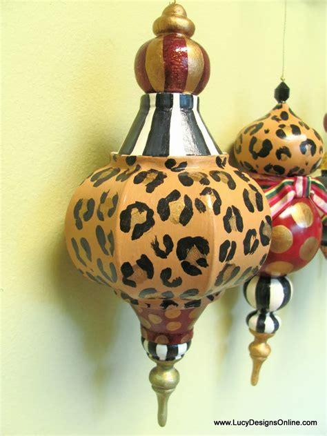 decoupaged papier mache ornaments painted ornaments whimsical diy large paper mache ornaments black and white