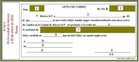 como llenar una letra de cambio ejemplos de como llenar una letra c 243 mo se llena la letra de cambio