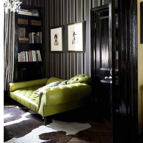 Green And Black Interior Design by Honey And The Moon I M Going Green