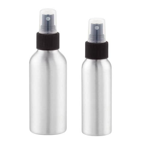 travel water bottle interdesign aluminum travel mister bottles the container store