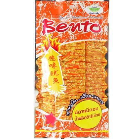 Thailand Bento Squid Seafood Snack 10x bento squid seafood snack sweet spicy