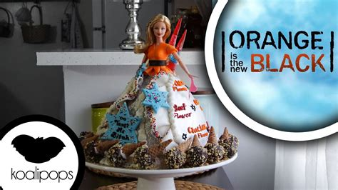 Cak New Black orange is the new black doll cake how to