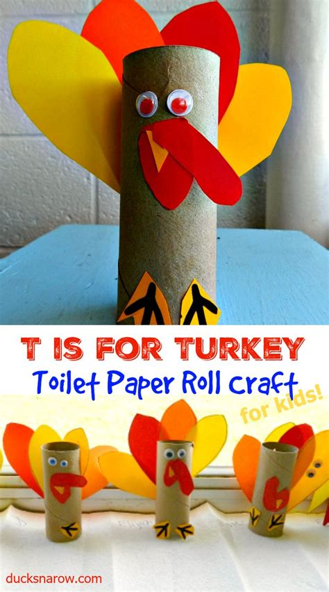 Paper Roll Crafts For Preschoolers - 17 best images about thanksgiving activities and