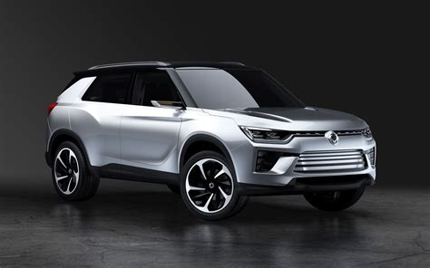 Ssangyong Car Wallpaper Hd by 2016 Ssangyong Siv 2 Concept Wallpapers Images Suv Silver