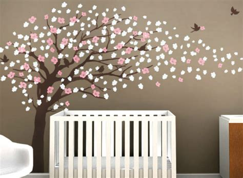 Nursery Wall Tree Decals Tree Wall Decals Roundup Project Nursery