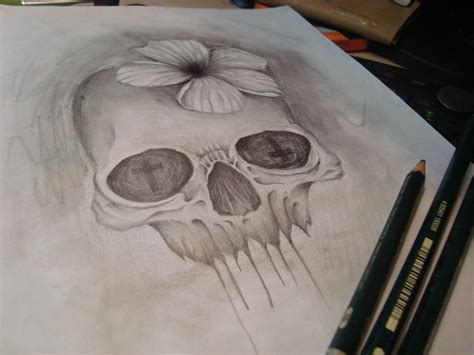 skull tattoo design by aimstar on deviantart