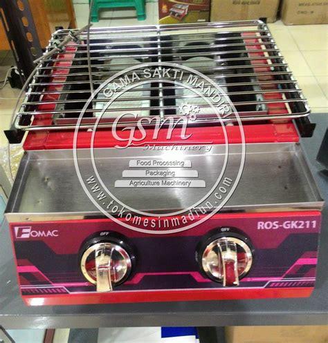 Alat Panggang Jagung Bakar mesin pemanggang sosis tanpa asap toko alat mesin usaha