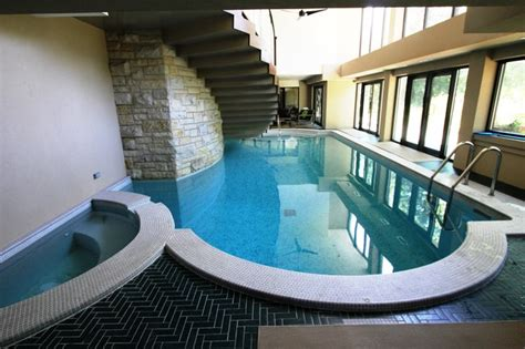 Bathrooms By Design Inc Modern Indoor Pool Modern Pool Chicago By